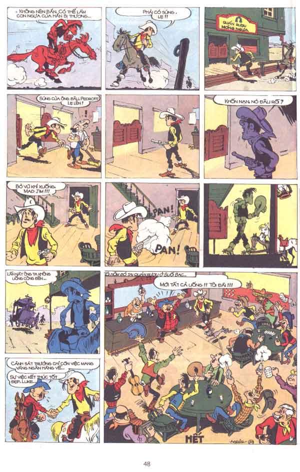 Lucky Luke tập 29 trang 49