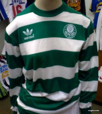 987d872440 Maglia Verde  Camisa zebrada do Leão