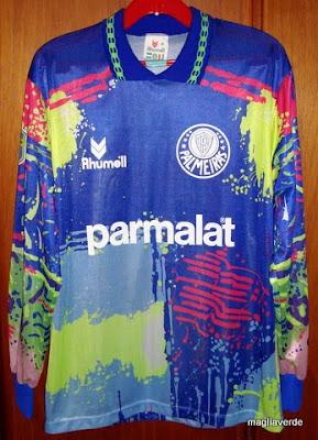 Adidas Camiseta Palmeiras Retr Goleiro Uniforme relembra a 1fee23ee54618