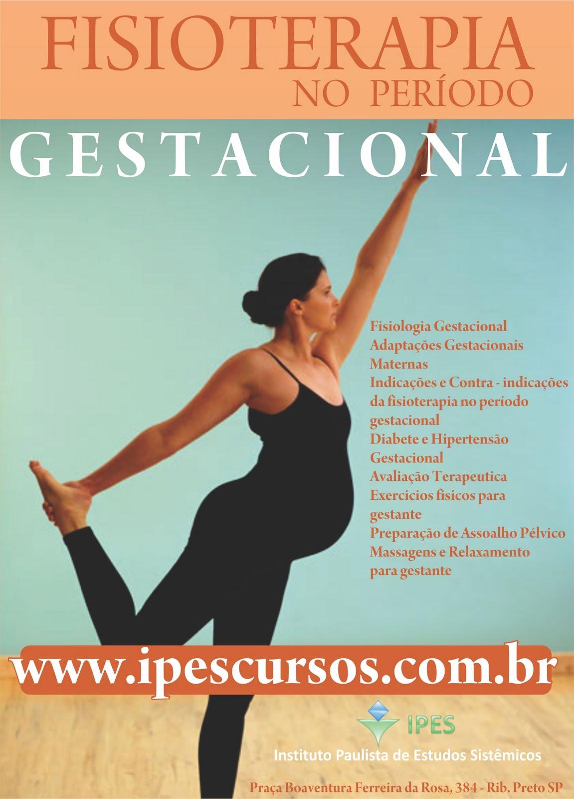 Fisioterapia na Gestação e Saúde da Mulher: Divulgação