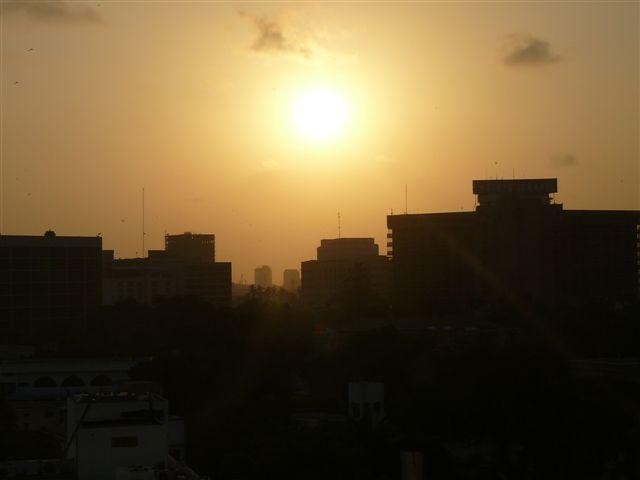[Karachi+Sunset]