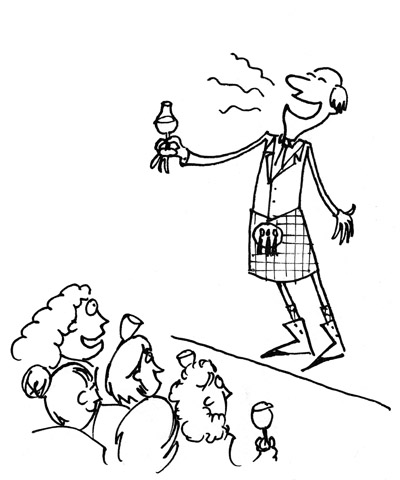 Alex Driver's Cartoon Blog: Dental Dams and Haggis