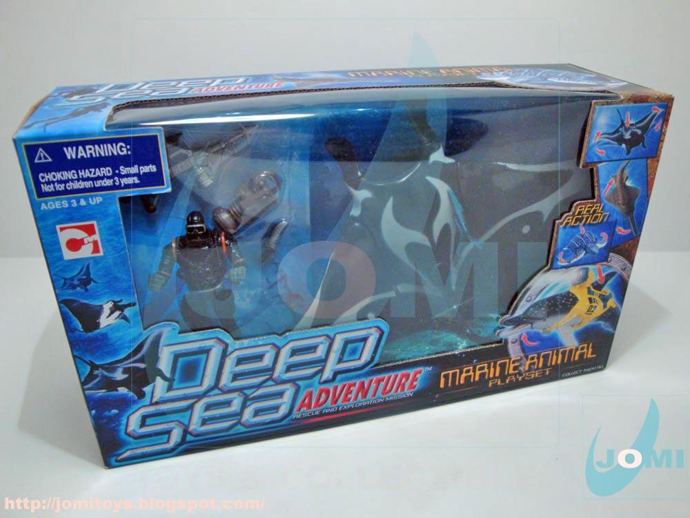 Jomi Toys Under Maintenance Deep Sea Adventure Manta