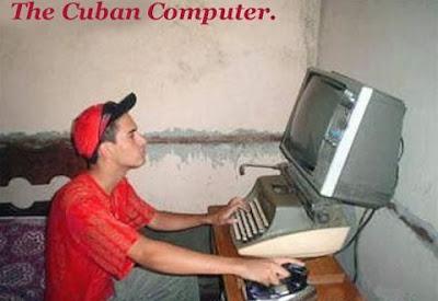 Topico de imagens toscas e/ou insanas Cuban-computer