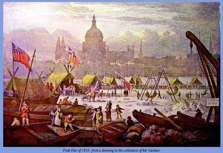 The Last Frost Fair on the Thames River « Jane Austen's World
