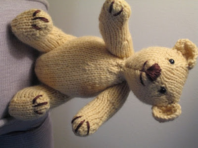 Knitted Toys Bertie Bear