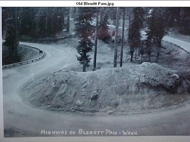 Old Blewett Pass Highway Historic Blewett Pass Highway