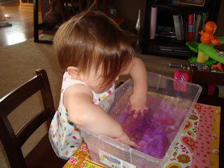 Finger Painting or Fingerpaint Eating?