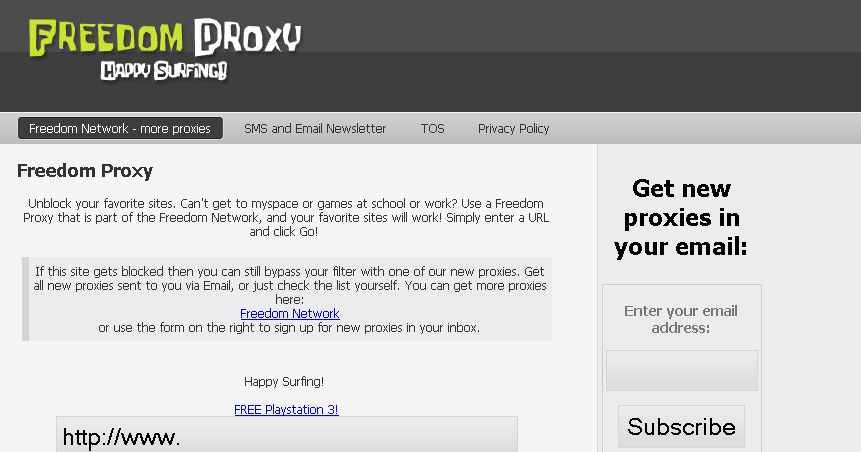 Bypass Proxy Online