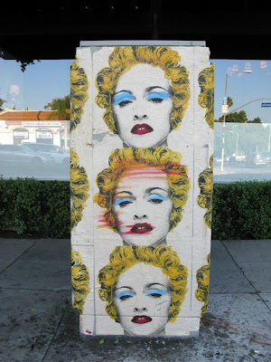 mr brainwash madonna MADONNA: Mr. Brainwash Making The Celebration Artwork