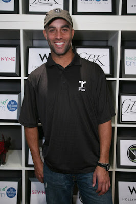 Black Tennis Pro's James Blake in Oscar celebration gifting suite