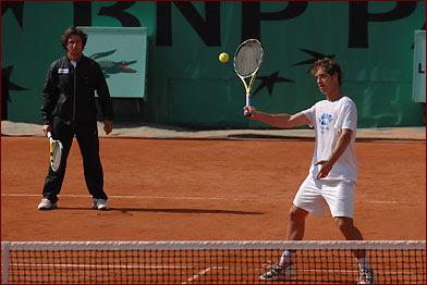 Black Tennis Pro's Roland Garros Gallery