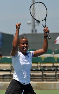 Black Tennis Pro's Mashona Washington