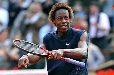 Black Tennis Pro's Gael Monfils