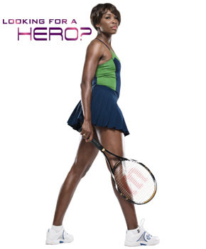 Black Tennis Pro's Hero Campaign