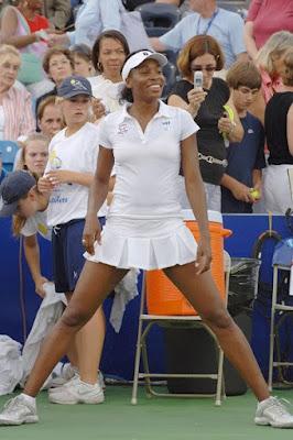 Black Tennis Pro's Venus Williams