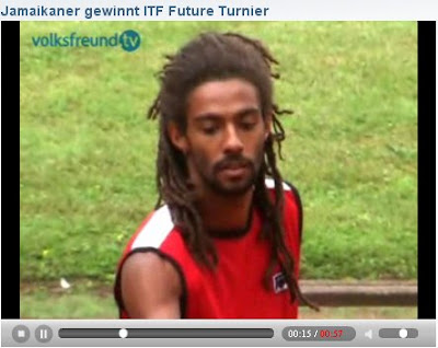 Black Tennis Pro's Dustin Brown