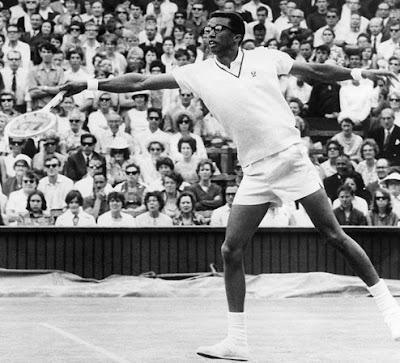Black Tennis Pro's Arthur Ashe