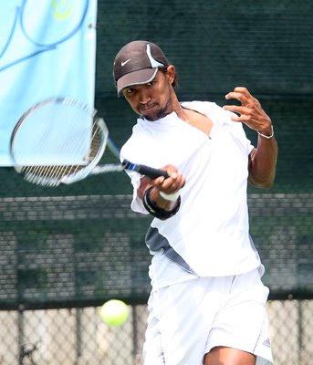 Black Tennis Pro's Raven Klaasen