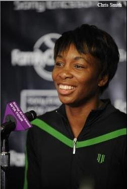 Black Tennis Pro's Venus Williams Family Circle Cup