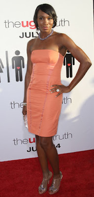 Black Tennis Pro's Venus Williams The Ugly Truth Premiere