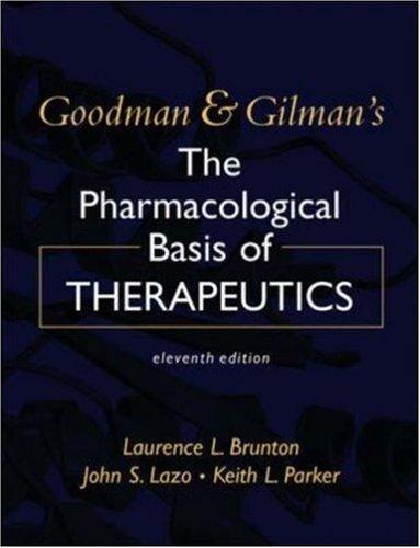 Goodman And Gilman's The Pharmacological Basis Of ...