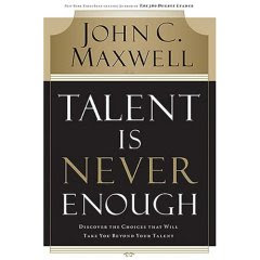 51FskLXZd1L. AA240  Book Review   Talent is Never Enough