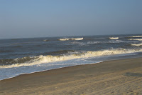 late day surf still breaking! - click to enlarge