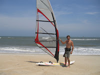 Tim Kuth, winner of the 4.7m KA Kult donated by WindsurfDeal.com!