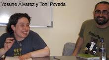 Con Tony Poveda en la Escuela de Seronda
