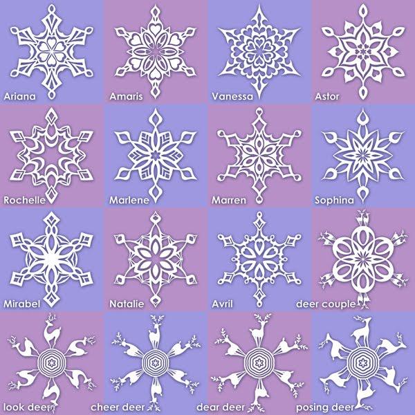Plastic Acid New Snowflakes