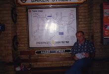 The Tube - Baker Street Station - London