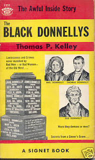 1955 cover of Kelley's the Black Donnellys