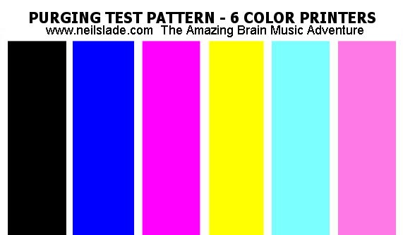 Blog of my life how to maintain or increase air pressure for Color test print page