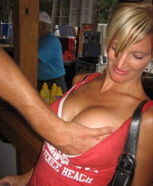 breast girl Grab