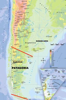 Bariloche Argentina Janeiro - Argentina map bariloche