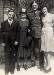 me(age 18) with parents and cousin before going overseas
