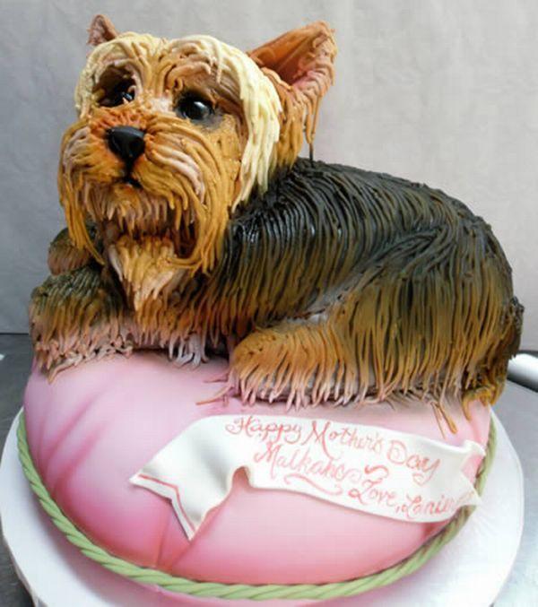 How To Make A Cake Shaped Like A Dog
