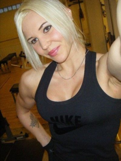 Scary, Sometimes Cute, And Occasionally Sexy - Female Bodybuilders -70 Pics  Curious, Funny -6550
