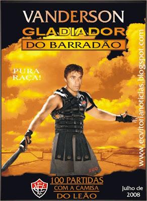Vanderson, Gladiador Rubro-Negro
