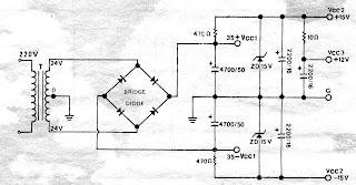 Power Supply Circuit: Simple power supply regulator 12V