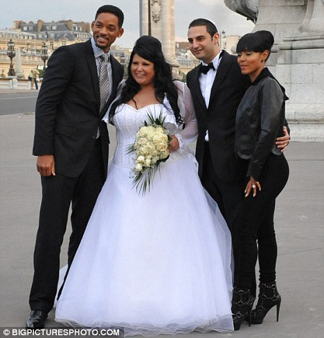 Will Smith And Jada Pinkett Are Wedding Crashers In Paris