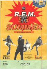 REM 1995 Tour Ticket