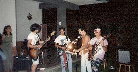 Rara immagine di quel sabato sera - Estate 1992