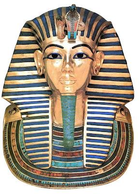 joalheria egípcia Máscara Tutankamon