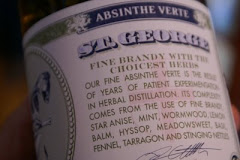 Absinthe from St. George