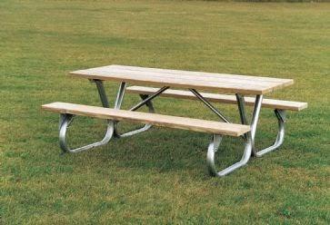Furniture Leisure Blog Galvanized Steel Picnic Table Frames