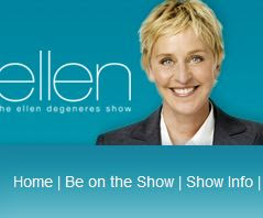 the ellen degeneres show get tickets celebmagnet. Black Bedroom Furniture Sets. Home Design Ideas