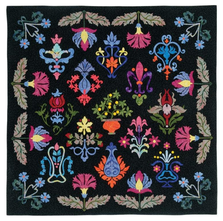Quilt Patterns With Floral Fabric : William Morris in Quilting: William Morris fabrics for quilts