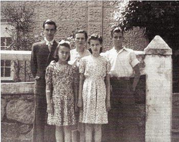 Família Barata - 1940 - Rio Comprido, RJ
